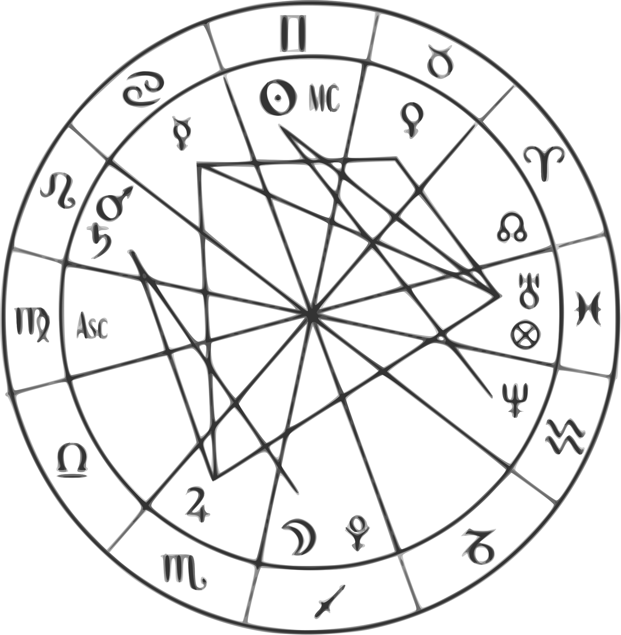 Horoscope svg #4, Download drawings