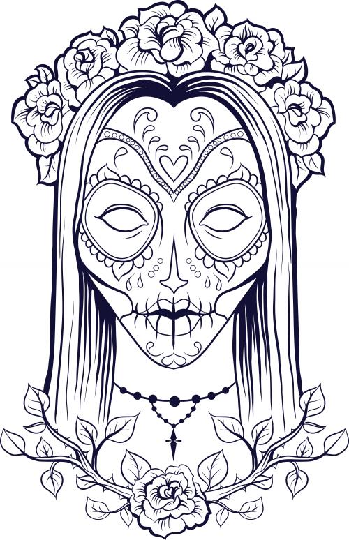 Horror coloring #9, Download drawings