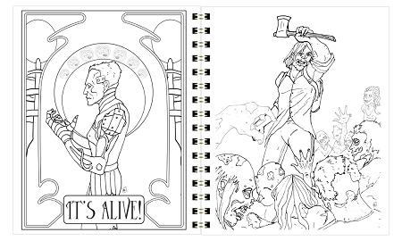 Horror coloring #10, Download drawings