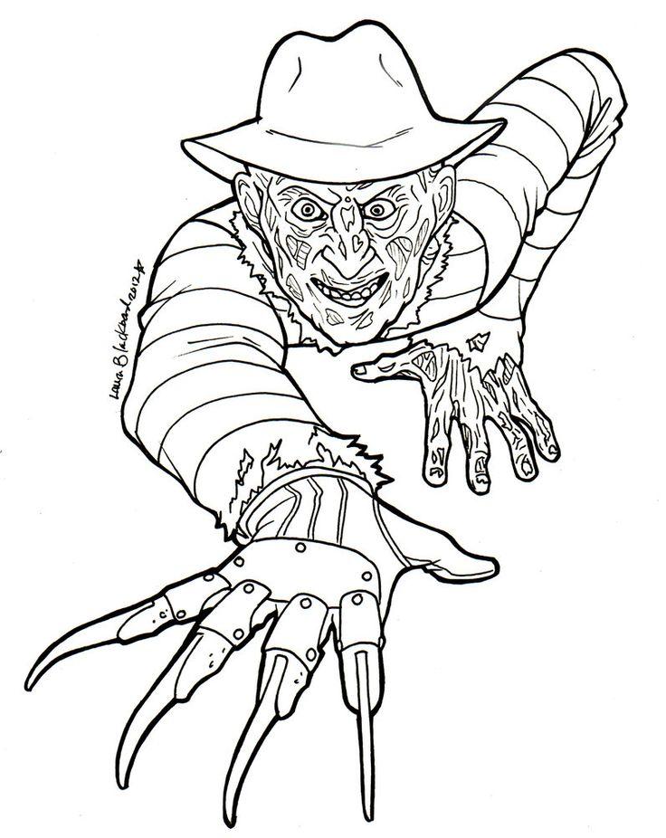 Horror coloring #4, Download drawings