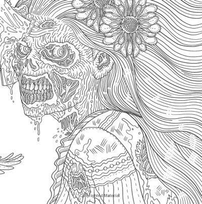 Horror coloring #15, Download drawings