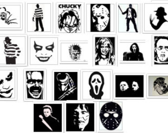 Horror svg #18, Download drawings