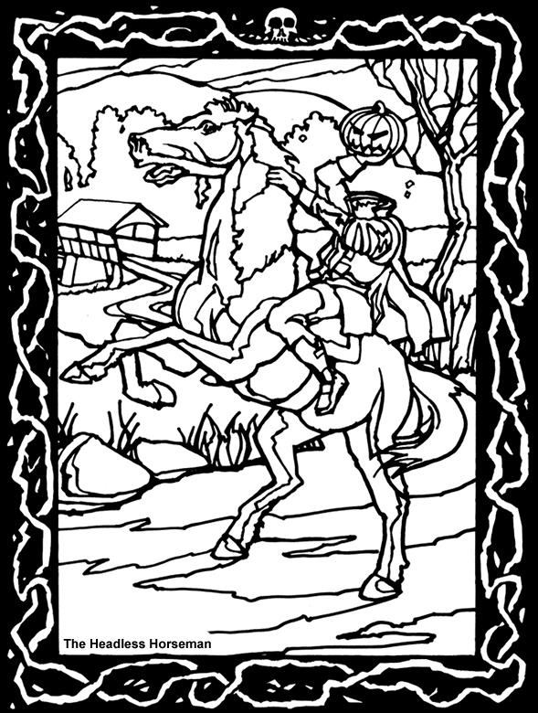 Horsemen coloring #19, Download drawings