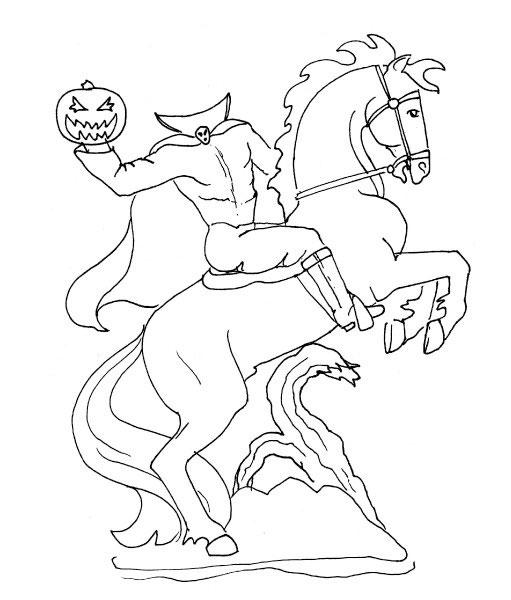Horsemen coloring #3, Download drawings