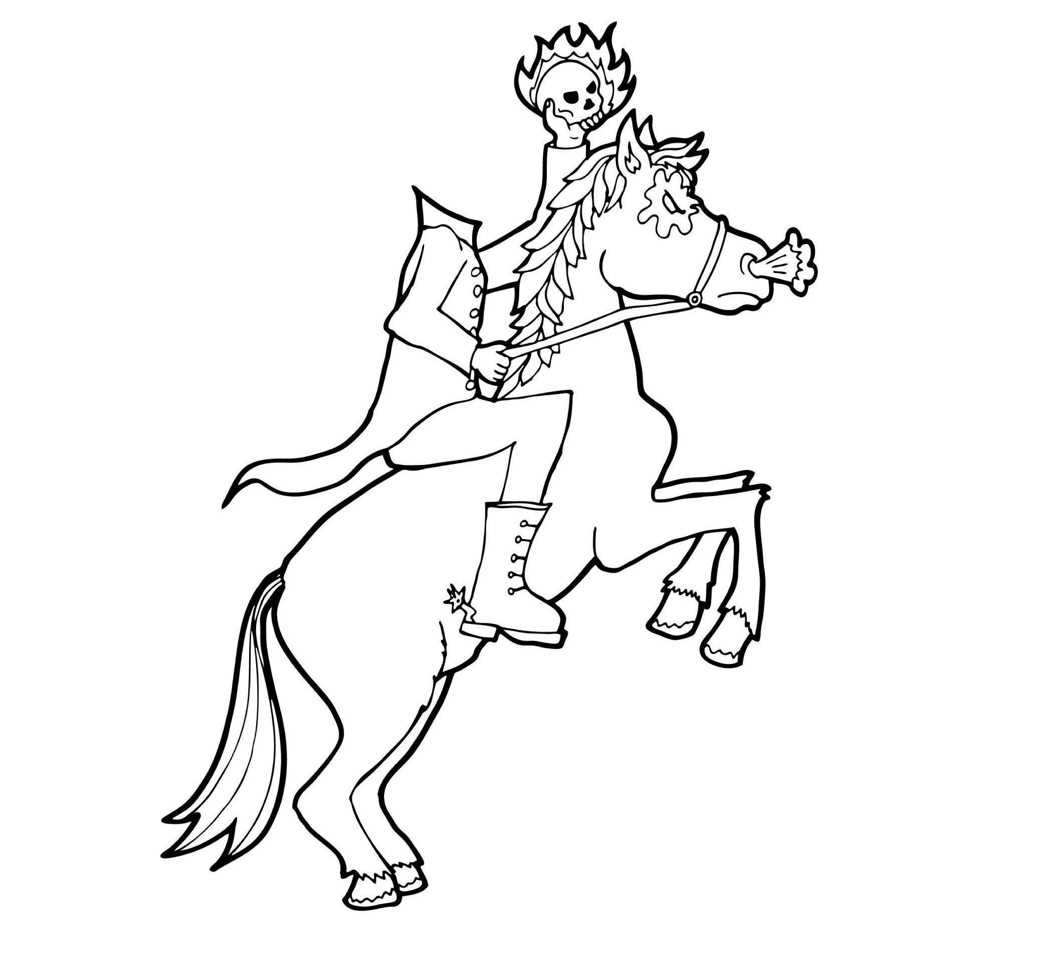 Horsemen coloring #9, Download drawings