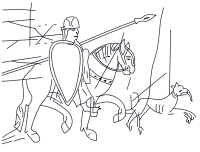 Horsemen svg #19, Download drawings