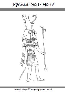 Horus coloring #6, Download drawings