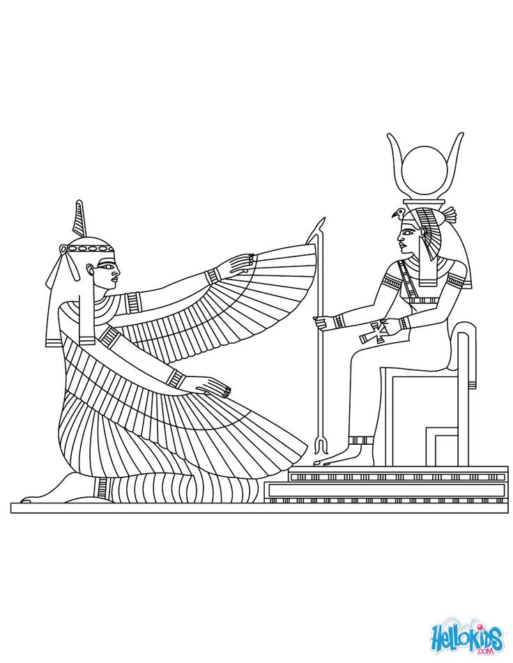 Horus (Deity) coloring #6, Download drawings