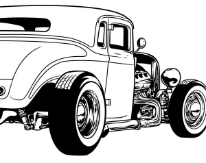 Hot Rod clipart #12, Download drawings