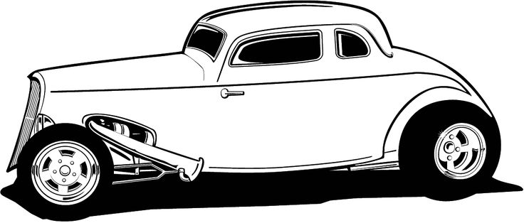 Hot Rod clipart #10, Download drawings