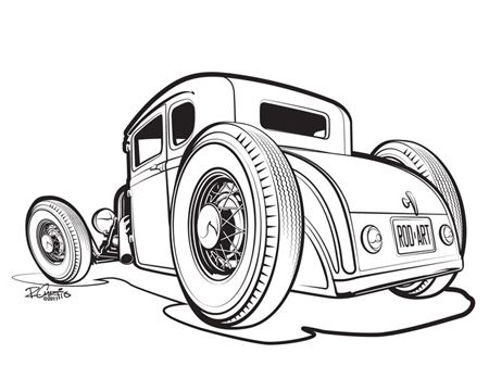 Hot Rod clipart #14, Download drawings