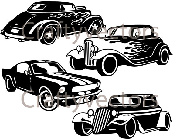 Hot Rod svg #14, Download drawings