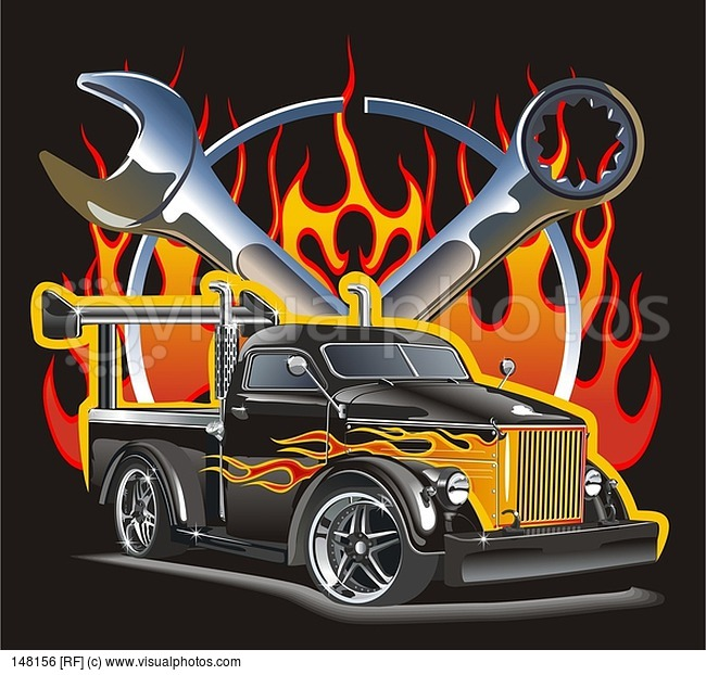 Hot Rod svg #9, Download drawings
