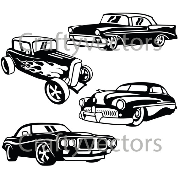 Hot Rod svg #15, Download drawings