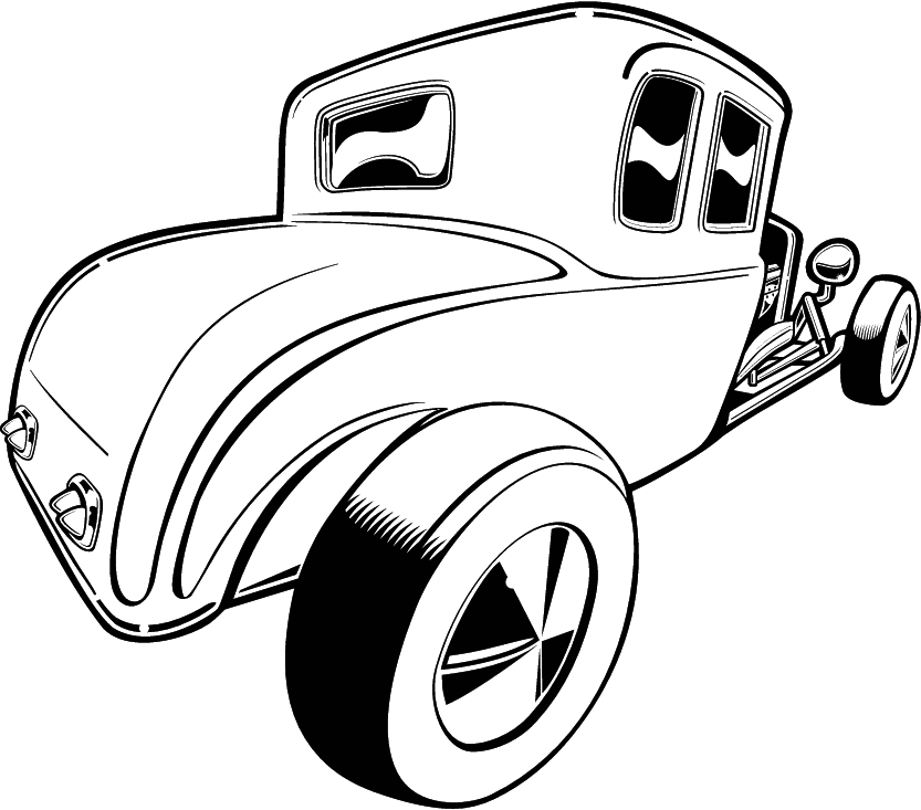 Hot Rod svg #6, Download drawings