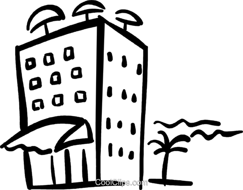 Hotel clipart #1, Download drawings
