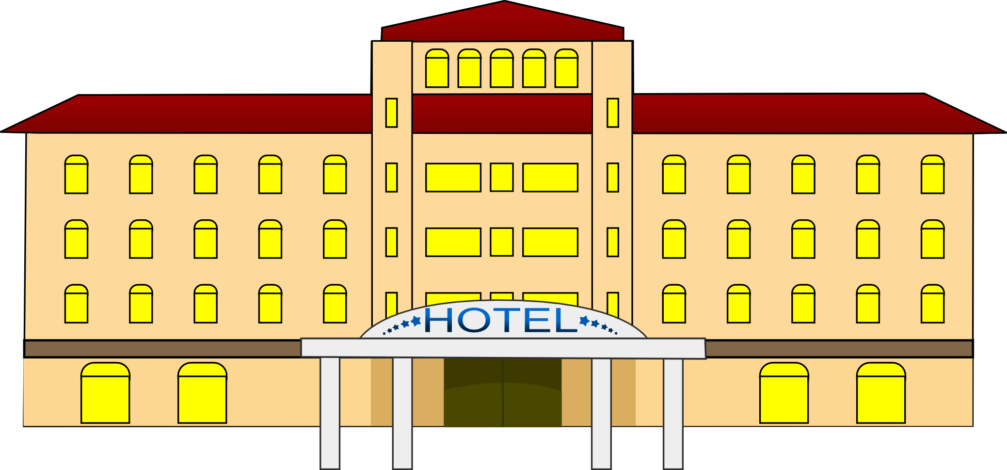 Hotel clipart #15, Download drawings