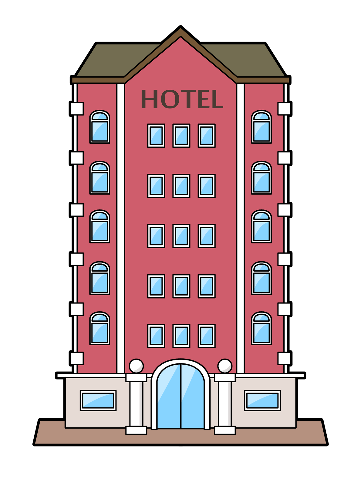 Hotel clipart #11, Download drawings
