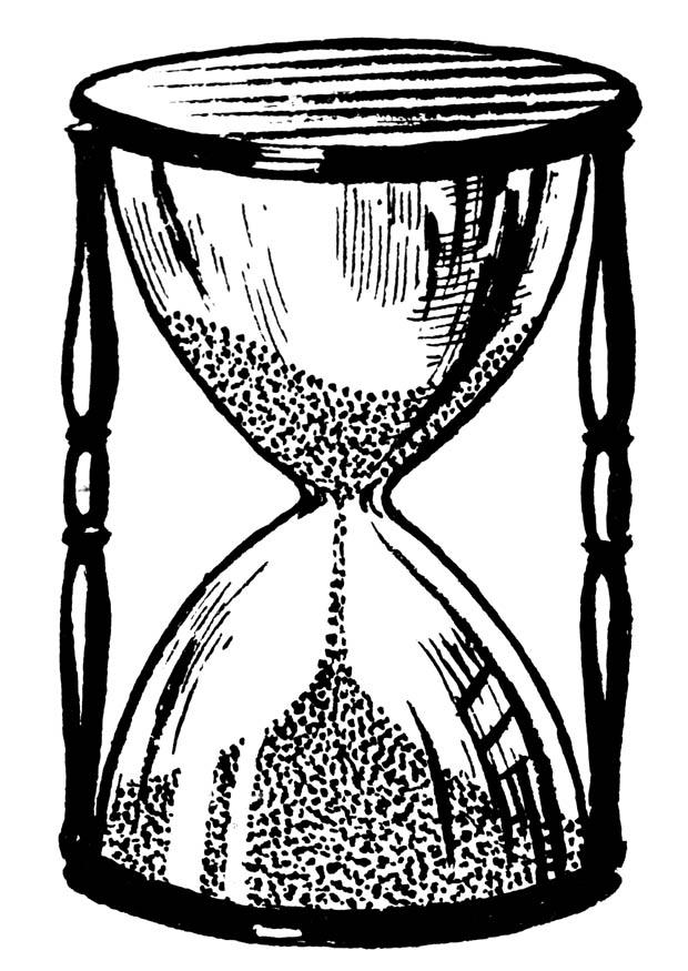 Hourglass coloring #5, Download drawings