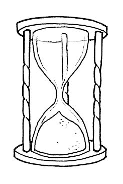 Hourglass coloring #11, Download drawings