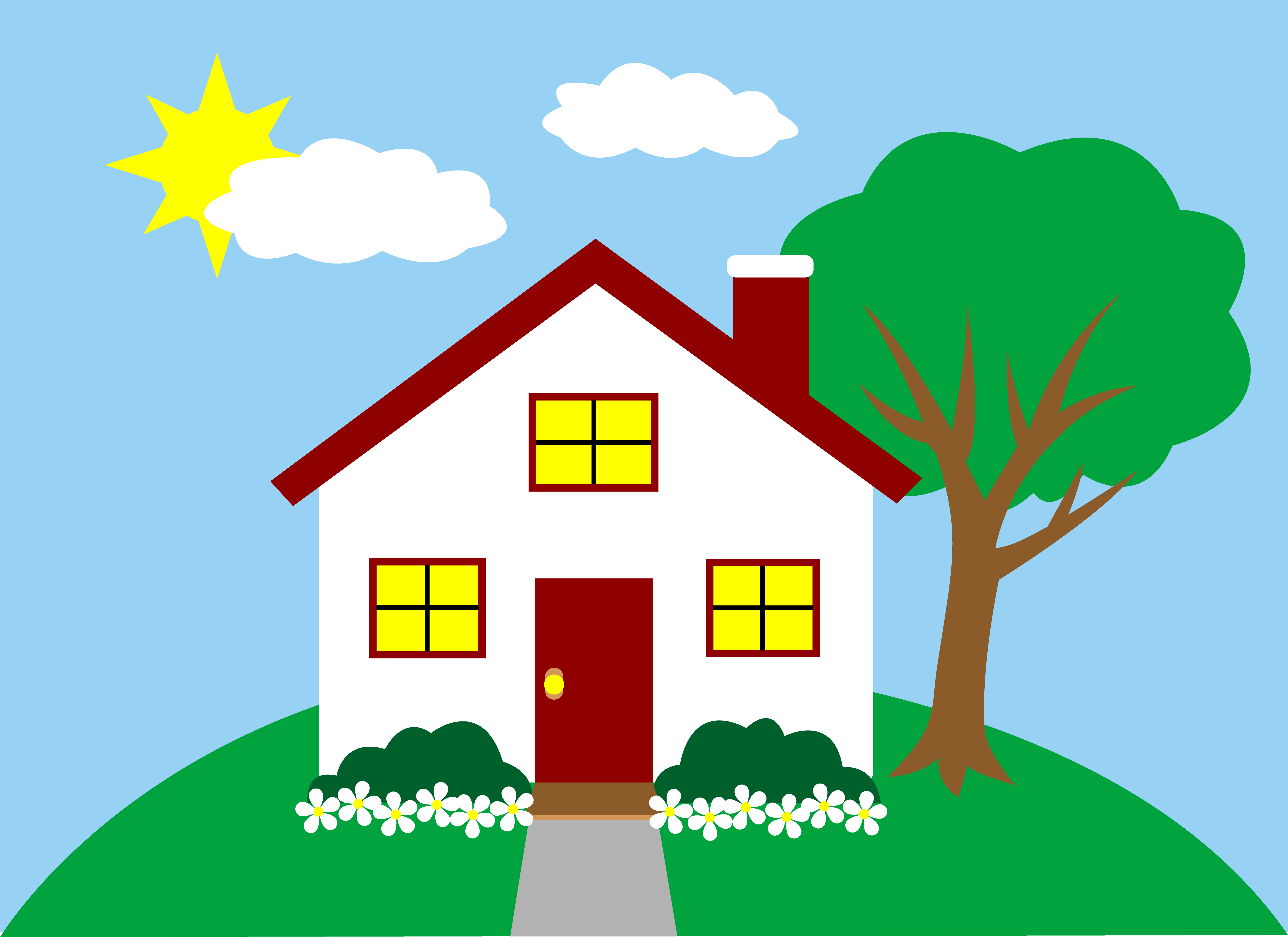 House clipart #1, Download drawings