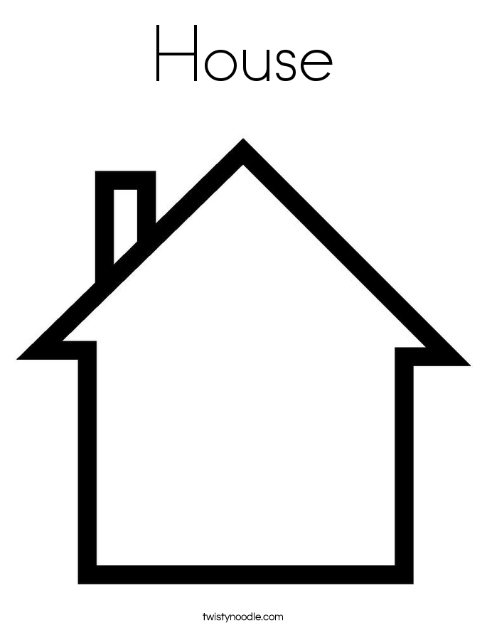 Homes coloring #10, Download drawings