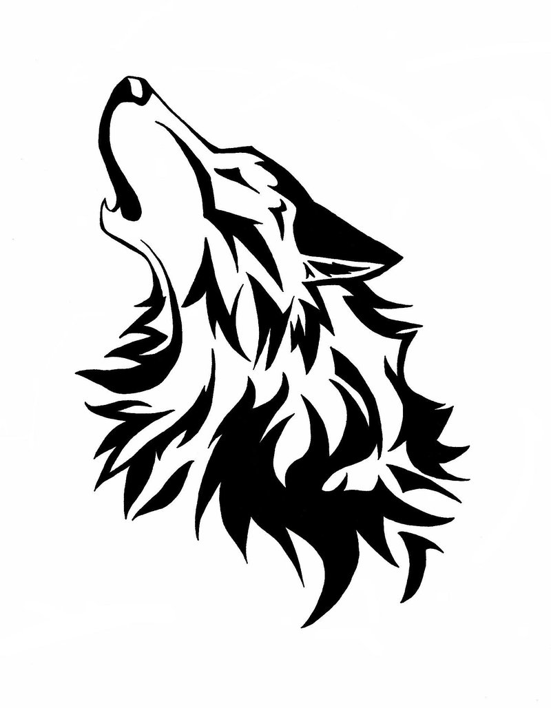 White Wolf svg #14, Download drawings