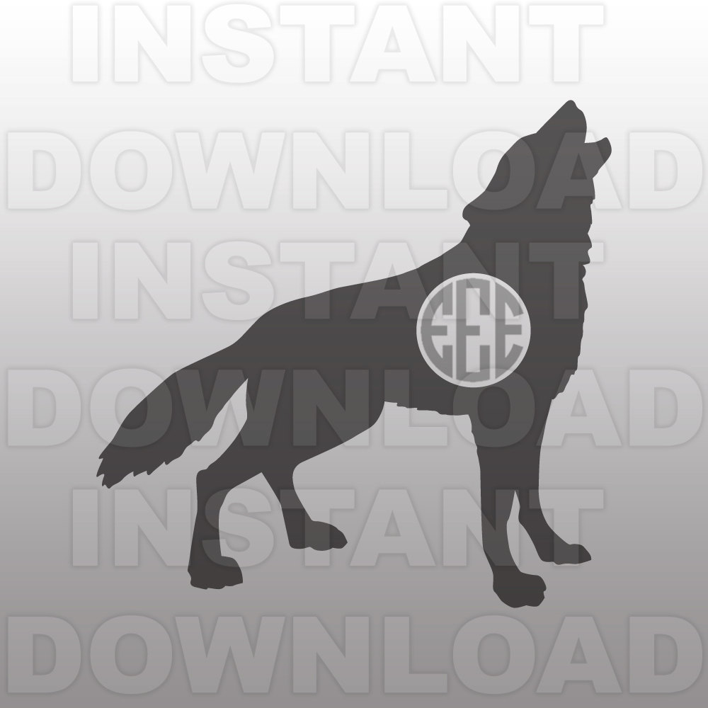 Howling Wolf svg #9, Download drawings