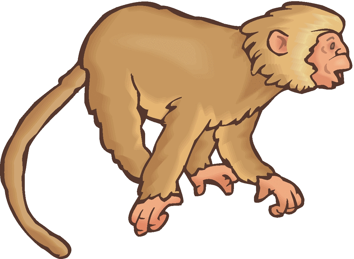 Howler Monkey clipart #1, Download drawings