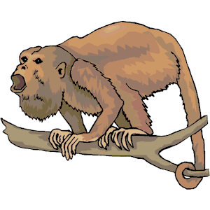 Howler Monkey svg #19, Download drawings