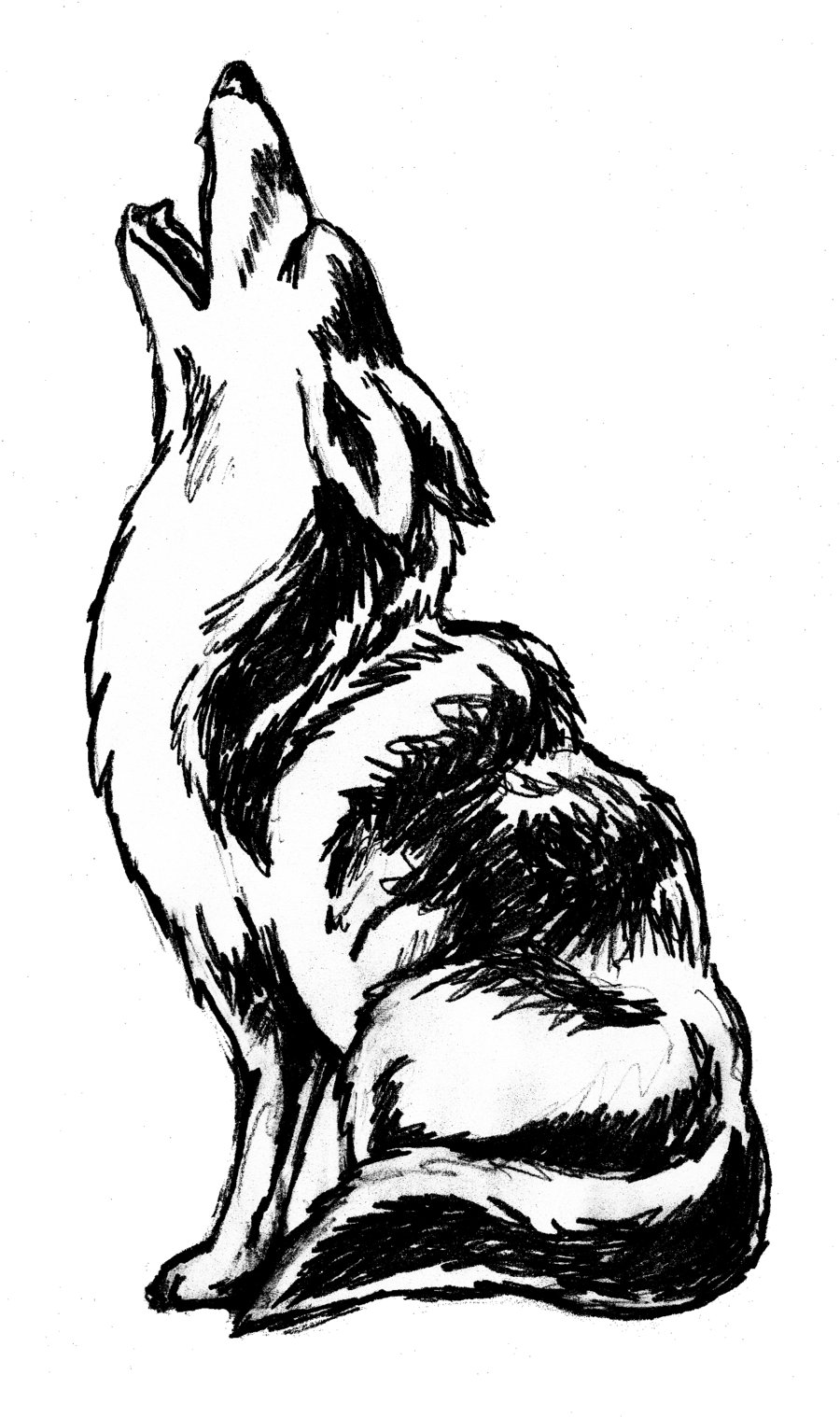 Howling clipart #1, Download drawings