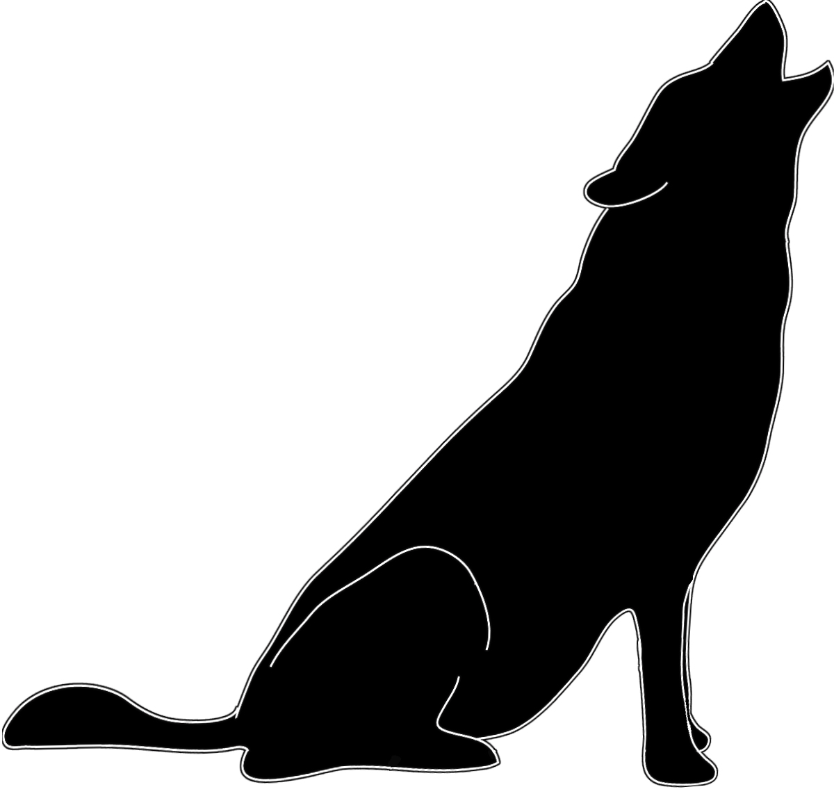 Howling clipart #4, Download drawings