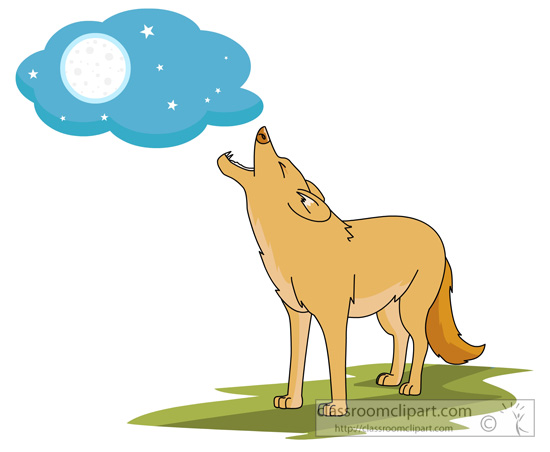 Howling clipart #14, Download drawings