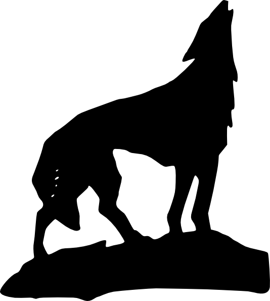 Howling Wolf clipart #8, Download drawings