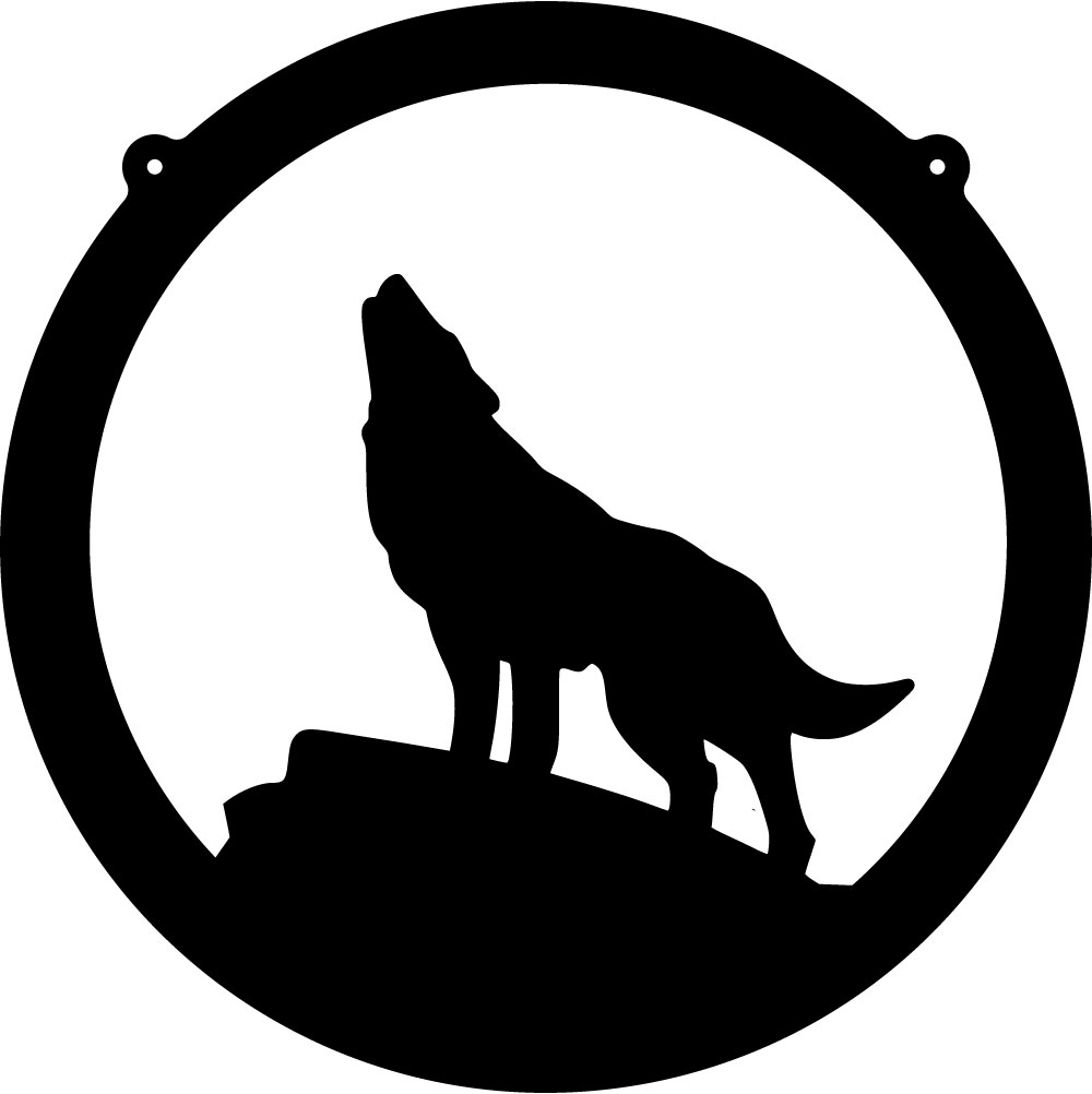 Howling Wolf clipart #2, Download drawings