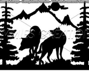 Howling Wolf svg #17, Download drawings