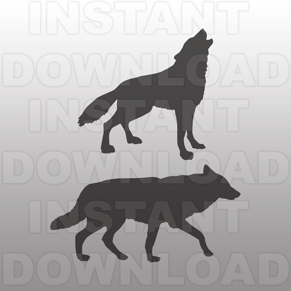 Howling Wolf svg #8, Download drawings