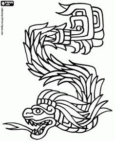 Huey Altepetl coloring #13, Download drawings