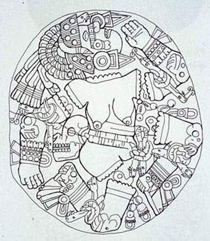 Huey Altepetl coloring #7, Download drawings