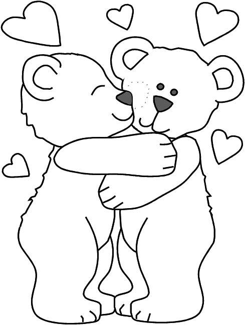 Hug coloring #18, Download drawings