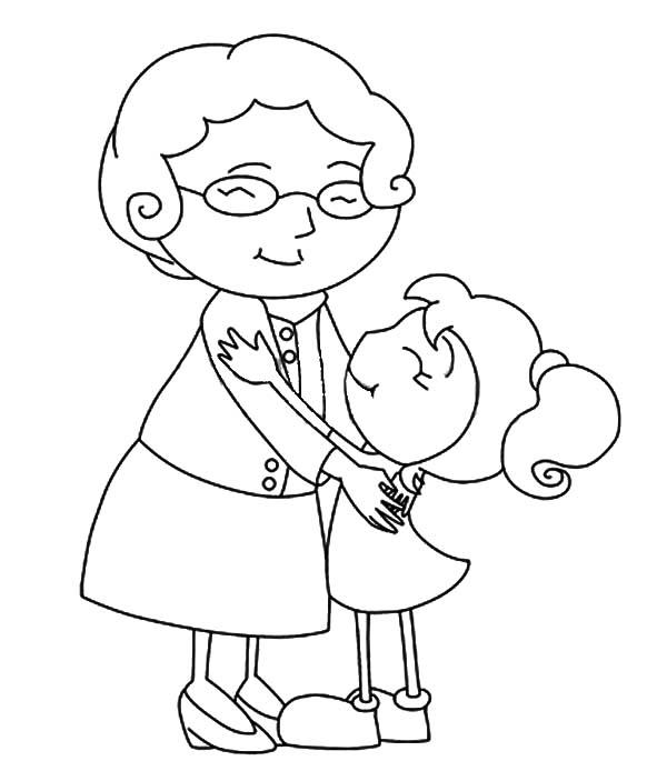 Hug coloring #9, Download drawings