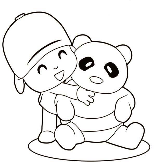 Hug coloring #7, Download drawings