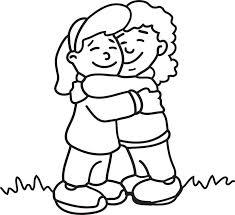 Hug coloring #19, Download drawings