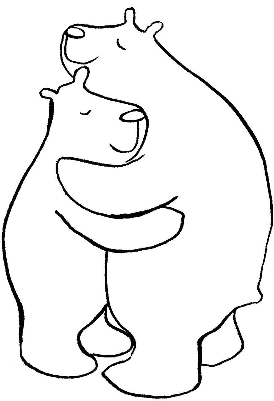Hug coloring #15, Download drawings