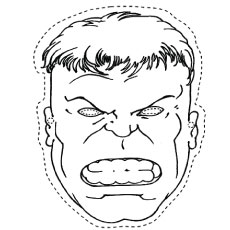 Hulk coloring #13, Download drawings