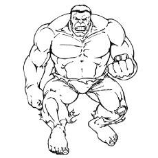 Hulk coloring #12, Download drawings