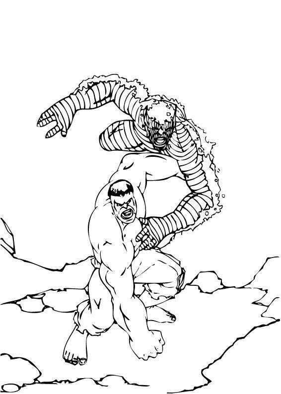 Hulk coloring #11, Download drawings