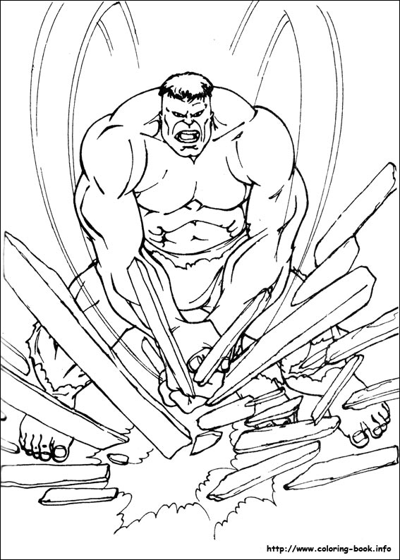 Hulk coloring #10, Download drawings
