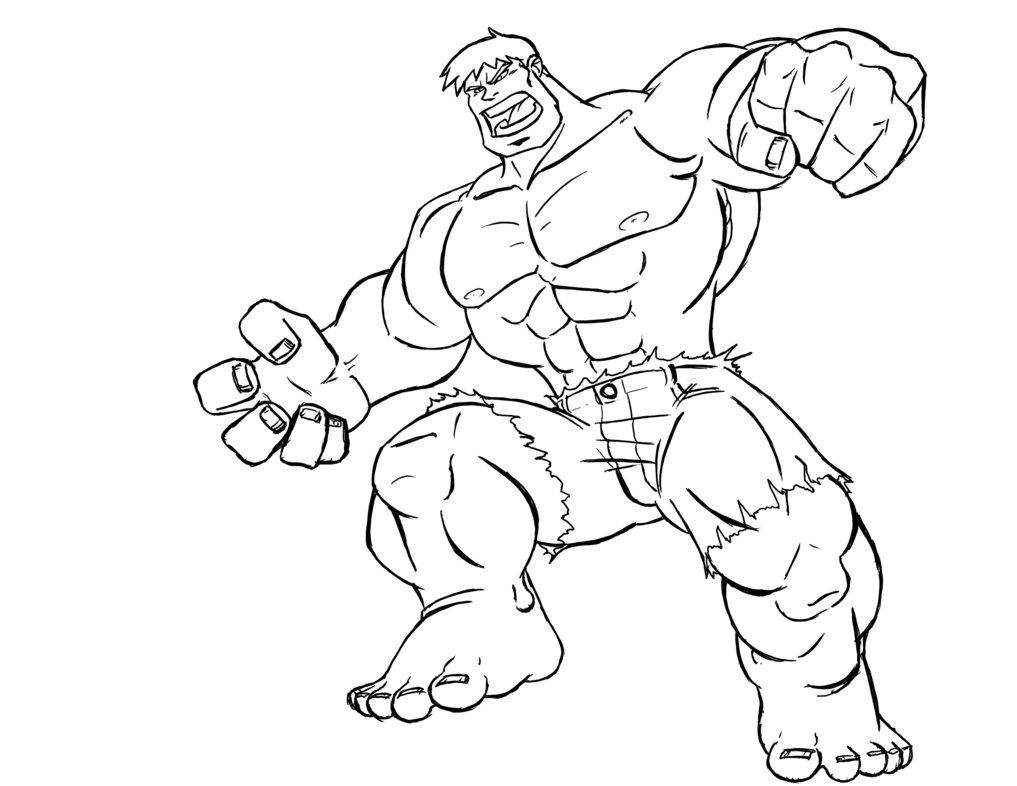 Hulk coloring #20, Download drawings