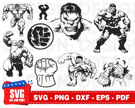 hulk svg free #1120, Download drawings